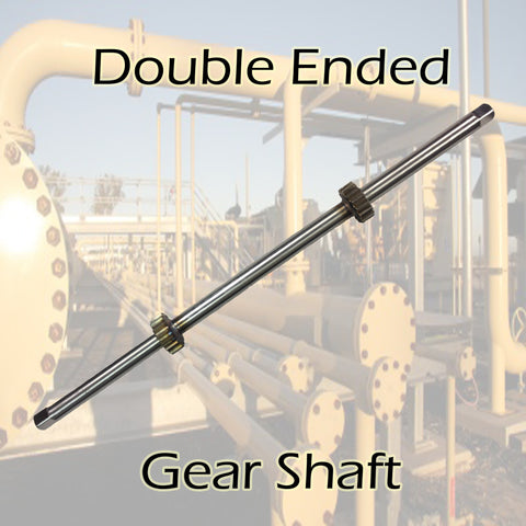 Double Ended Gear Shaft