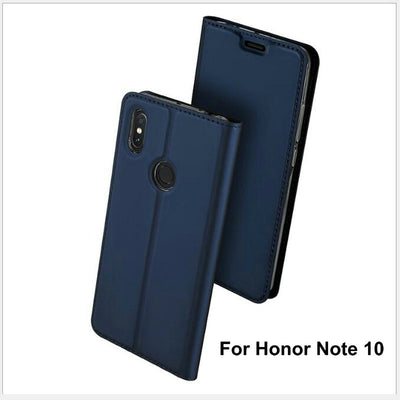 6.95'' Honor Note 10 Luxury PU Leather Case For Huawei Honor Note10 10 Flip Magnetic Stand Card Slots Wallet Phone Funda Cover