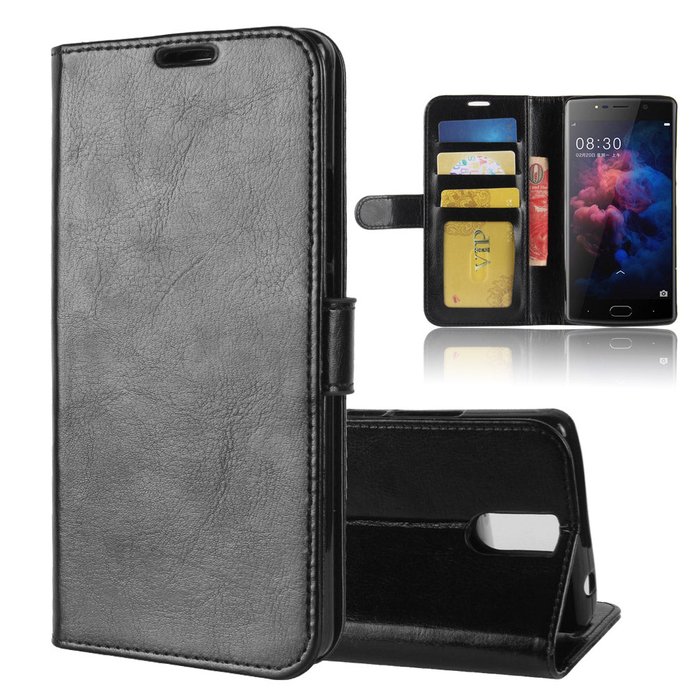 BL7000 Case For DOOGEE BL 7000 Cases Wallet Card Stent Book Style Flip Leather Covers Protect Cover Black DG DG7000 Doogee7000