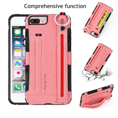 Cloth TPU Case For Iphone 6 6s 7 Plus XR X 10 8plus Shockproof Wallet Coque Cover For Iphone 8 7 6 S XS MAX Plus Iphone 7 Cases