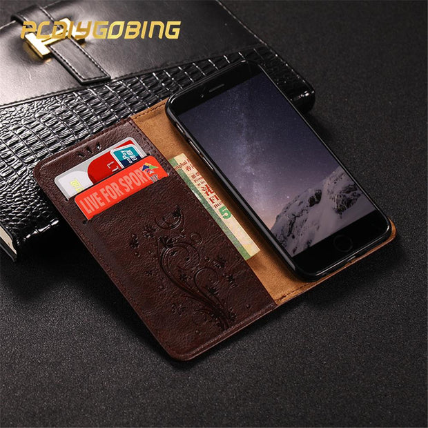 Embossed Leather For Huawei Honor 5C Euro 5X 6 6A 6C Pro 6X GR5 2017 7 7i 7X 8 Lite 9 9i V9 Play Honor Play View 10 Cover Case