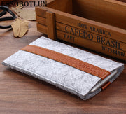 "FSSOBOTLUN,2 Styles,For Acer Liquid Z6E 5.0"" Phone Pocket Cover Sleeve Pouch Case Handmade Wool Felt Protective Case Bag"