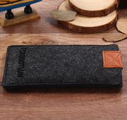 "FSSOBOTLUN,2 Styles,For Samsung Galaxy J2 (2017) 4.7"" Sleeve Pocket Case Cover Handmade Wool Felt Protective Pouch Case Bag"