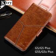 For Motorola Moto G5S Plus Case Leather Flip Case For Moto G5 Plus Wallet Phone Funda K'TRY Cover For Moto G5S Cover