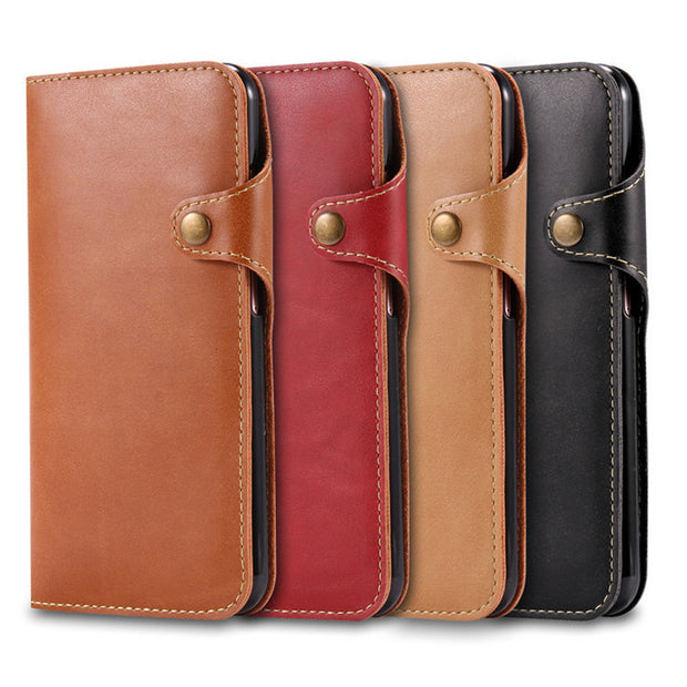 For Samsung Galaxy S8 Case Luxury Flip Leather Wallet Case For Samsung Galaxy S8 Case For Samsung S8 Plus Phone Bags Cover Coque