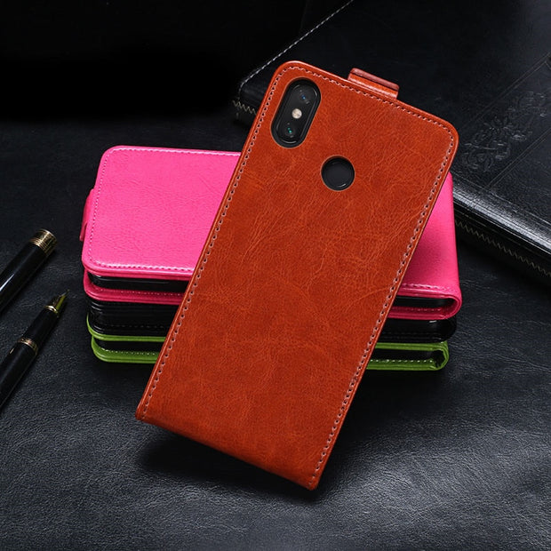For Xiaomi Mi Max 3 Case 6.9 Inch Vertical Flip PU Leather Case For Coque Xiaomi Mi Max3 Stand Cover Phone Bags With Card Slot