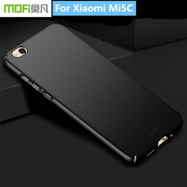 For Xiaomi Mi5C Original MOFi Classic Frosted PC Hard Back Protective Phone Case Cover For Xiaomi Mi 5C Mi5C Plastic Case