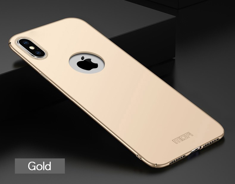 For IPhone Xs Max Case Luxury MOFi Classic Frosted PC Hard Back Protective Phone Case Cover For IPhone Xs Max Back Cover Case