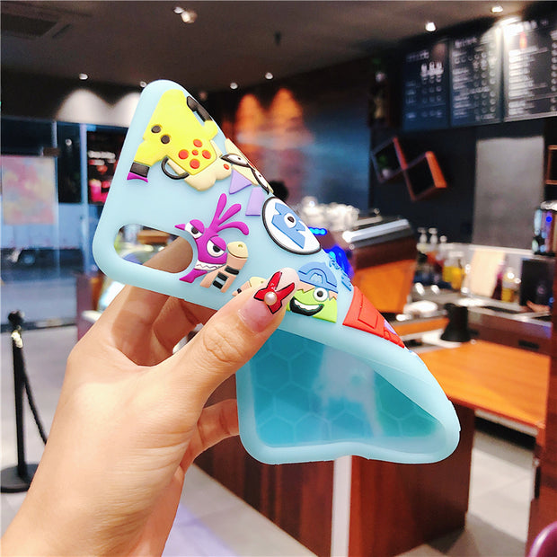 For Iphone 7 7Plus Cartoon Sullivan Monsters Silicone Case, 3D Toy Story Cartoon Fundas For Iphone X XS Max XR 8 8plus 6 6s 6sp