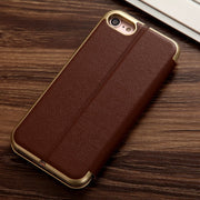 For Iphone XR Case Luxury PU Leather Flip Cover Wallet Case For Iphone 6 6s 7 8 Xs Max Full Protective Flip Cover Fundas