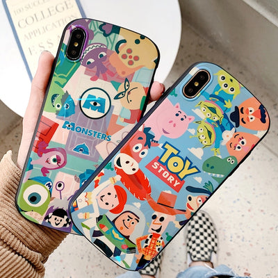 For Iphone XS Max Monsters Shield Case, Blue Ray Toy Story Soft Cover For Iphone 8plus 8 X XR 6 6s 6sp 7 7P Cartoon Cute Shell