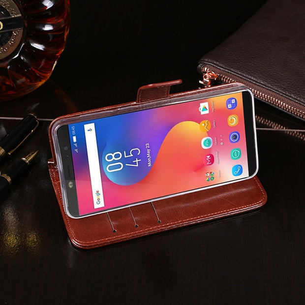 Infinix Hot S3 Case Cover Luxury Leather Phone Case For Infinix Hot