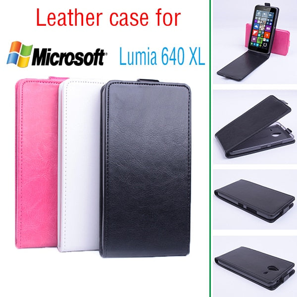 Leather Case For Nokia Microsoft Lumia 640 N640 N640XL Flip Cover Housing For Nokia N 640 XL / N640 XL Phone Cases Covers Fundas