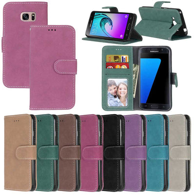 Matte Leather Case For Samsung Galaxy S6 S 6 G920F G920FD SM-G920FD Retro Phone Case Flip Cover For Samsung Galaxy S6 Case Capa