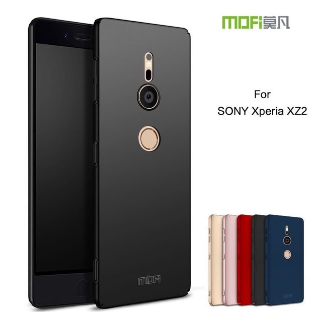 Mofi For Sony XZ2 Case MOFI 360 Full Protective Ultra Thin Slim Matte Hard Back Cover For Sony Xperia XZ2 Phone Capas Shell