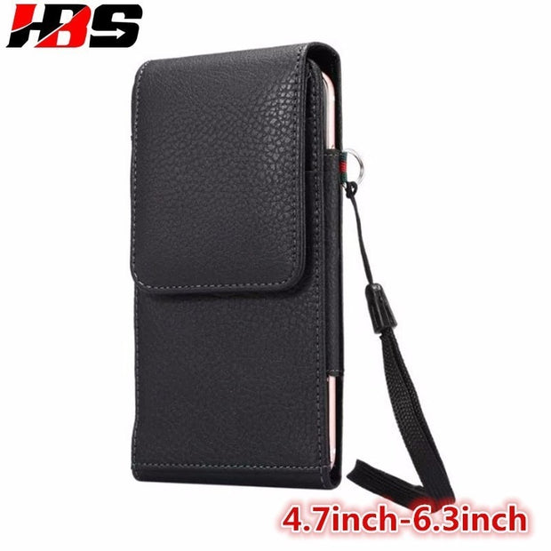 Phone Case For Huawei Honor 7A 7X 5A 5X 6A 6X Honor 6 7 8 Honor 9 V10 360 Degree Rotation Clip Holster Loop Magnetic Belt Bag