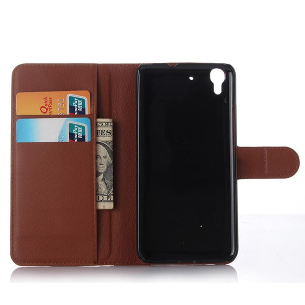 Phone Case For Huawei Y6 SCL-L21 Honor 4A Filp Wallet Case For Huawei Y6 Lte Luxury Kickstand Cover Phone Bags&Cases Coque Funda