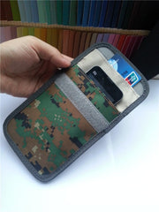 Signal Blocker Military Camouflage Pouch Stop Cell Phone GPS