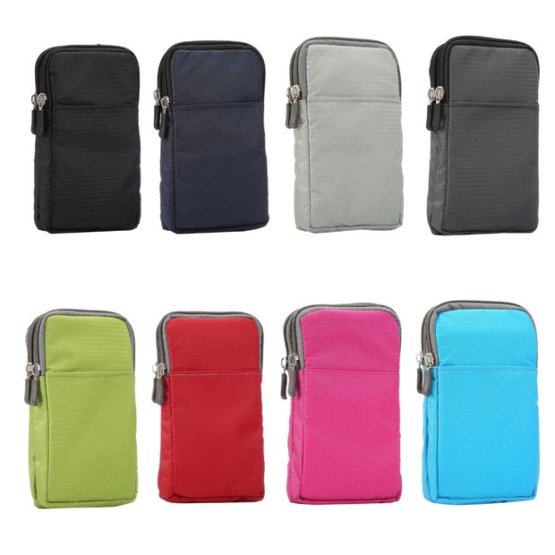 Sports Universal Wallet Pouch Neck Strap Bag Climbing Portable Case Mobile Phone Shoulder Bags Holster For Samsung For Xiaomi