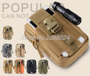Tactical Waist Bag Mobile Phone Pack Sport Mini Pocket Bags For Samsung Galaxy S Duos S7562 GT-S7562 7562 7560 Trend Plus S7580