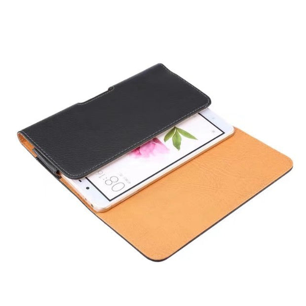 Xiaomi Mi Max Pro Prime MAX2 MIX Bag Layer Black Holster Leather Case Cover Belt Clip For Xiaomi Mi Max Max 2 Mix Mix 2 Bags