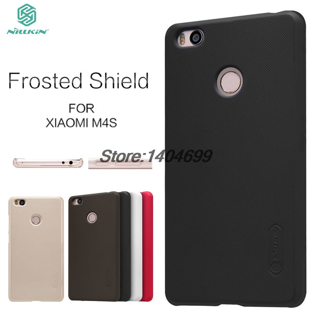super popular b4de1 afc7a Xiaomi Mi4S Case Xiaomi Mi 4S Matte Cover Nillkin Frosted Shield Hard Back  Cover Case For Xiaomi Mi4S