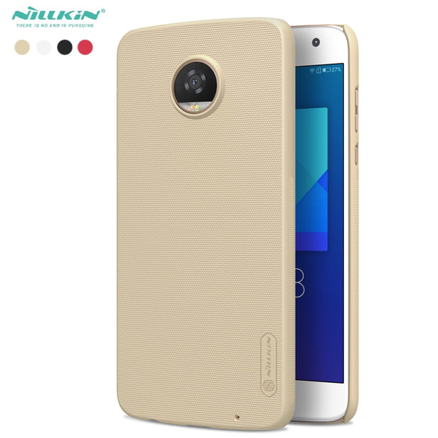 Z2 Play Cover Nillkin Shiled PC Frosted Cases For Moto Motorola Z2 Play Protect Case Salient Point Design
