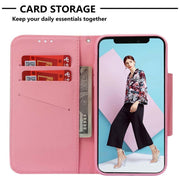 ZZCAJA For IPhone X XS Max Case Flip PU Leather Cute Animal Tiger Elephant Panda Flower Wallet Card Slot Cover For IPhone XR Bag