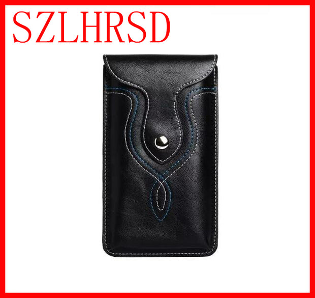 For Xiaomi Redmi Note 4X Mi 6 Case Belt Clip Pouch Flip Phone Leather Cover For HomTom HT50 HT30 HT37 Pro ASUS ZenFone 4 Max