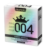 OKAMOTO Zero Zero Four 0.04 Condom (24 Pieces/box)