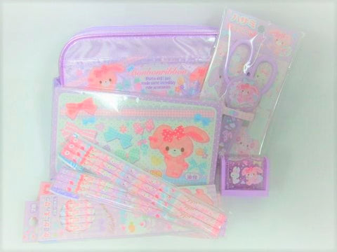 Outlet Sanrio Bon Bon Ribbon Stationery Set A