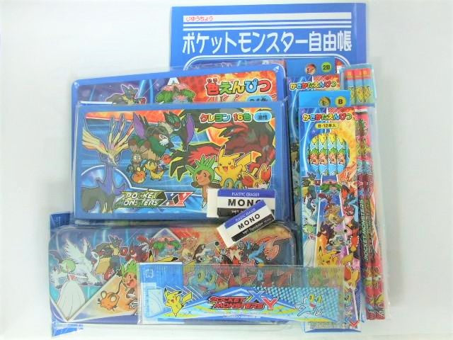 Outlet Pocket Monster XY Stationery Set B