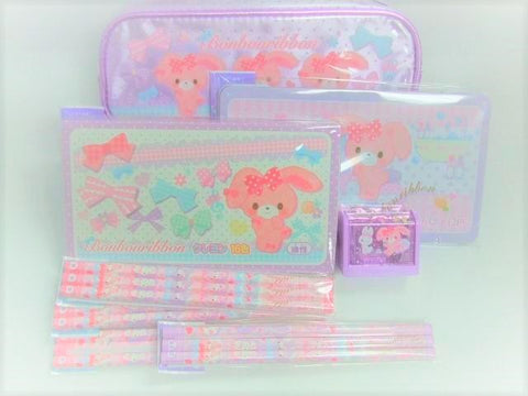 Outlet Sanrio Bon Bon Ribbon Stationery Set B