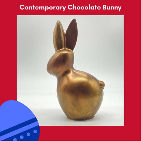 Contemporary Chocolate Bunny