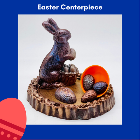 Limited Edition Bunny & Eggs Easter Centerpiece 2016