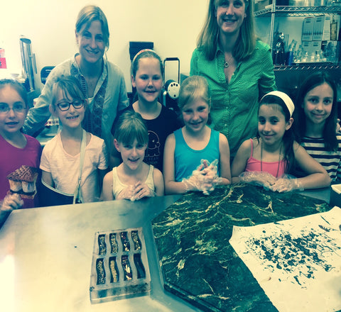 Fun Chocolate Making Classes for Girl and Boy Scouts - Le Rouge - Handmade Chocolates By Aarti