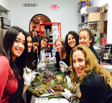 """Girls Night Out"" Chocolate Extravaganza Class - Le Rouge - Handmade Chocolates By Aarti"
