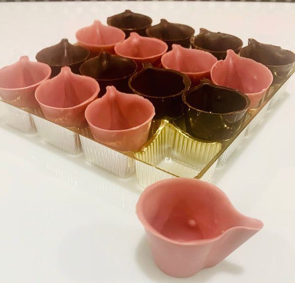 DIY Chocolate Mousse Cups