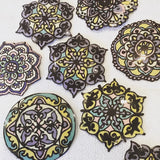 Hand painted Chocolate Mandalas