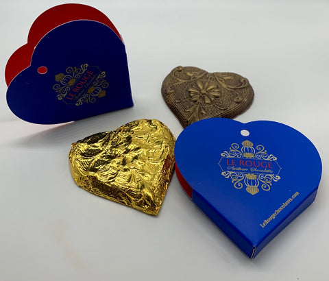 """Give A Little Love"" Chocolate Heart"