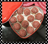 """Give a Little Love"" Hand Rolled Champagne Truffle"