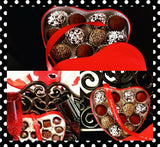 """Give a Little Love"" Red Heart Truffle Box"