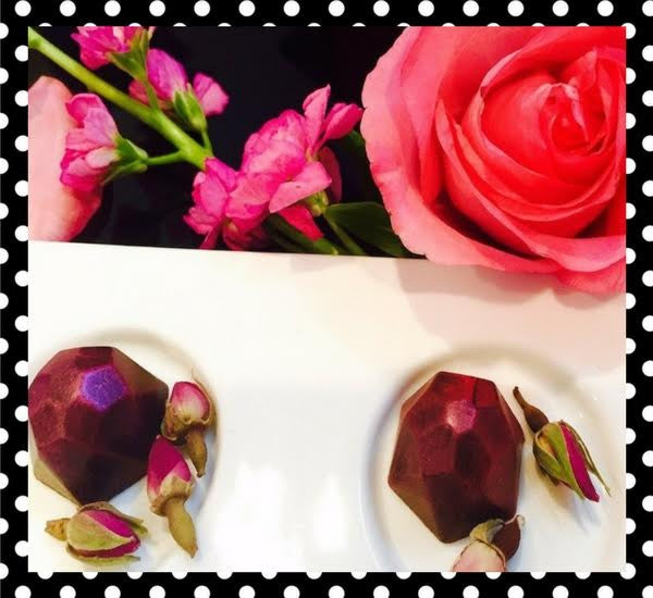 Preserved Rose Petal Truffle