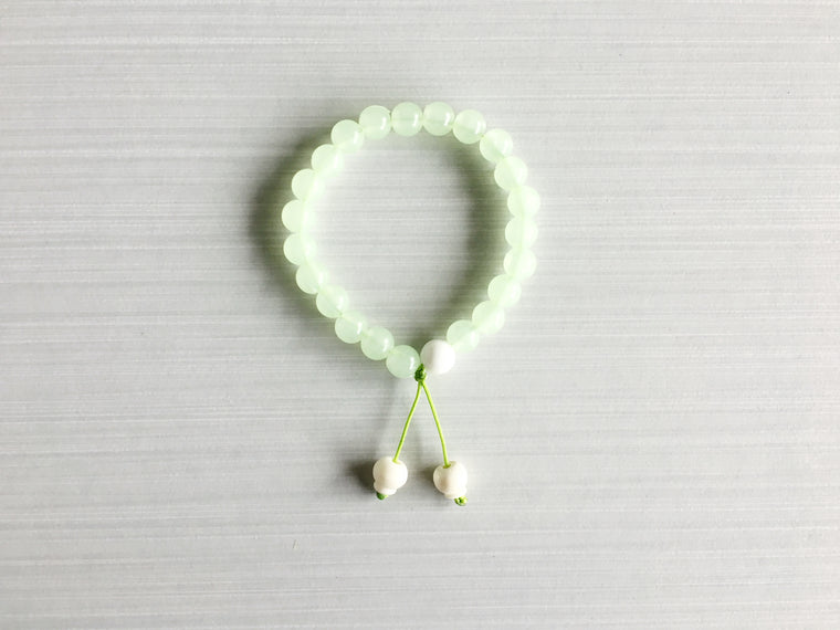 Glow In The Dark Meditation Beads (Green)