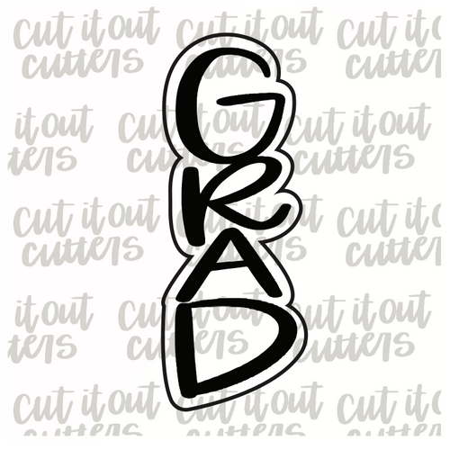 Vertical GRAD Cookie Cutter Stick
