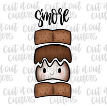 Load image into Gallery viewer, S'more Cookie Cutter Set