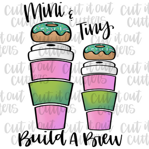 MINI & TINY Build A Brew Cookie Cutter Set