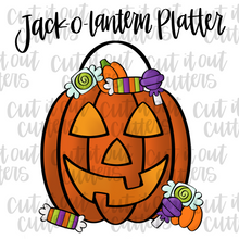Load image into Gallery viewer, Jack-O-Lantern Cookie Cutter Set