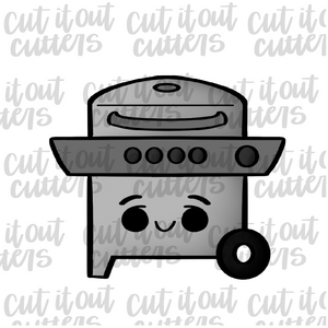 Gas Grill Cookie Cutter