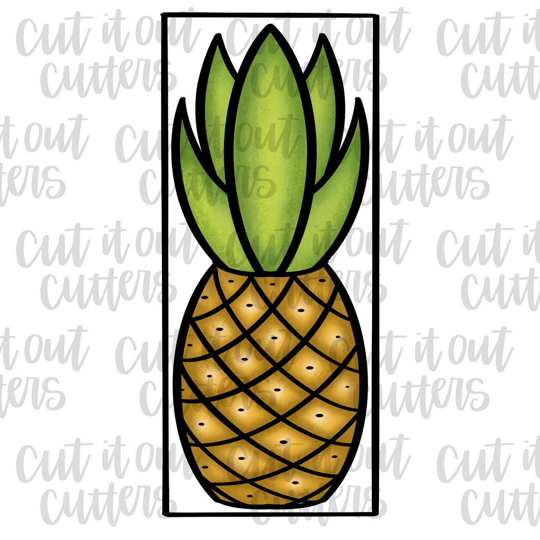 Build A Pineapple 12x5 Cookie Cutter Set